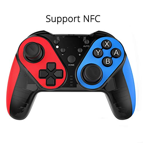 MaiTian NFC Bluetooth Wireless Gamepad, Game Controller NES Console Joystick Supporto Switch Pc (Windows Xp/7/8/8.1/10)