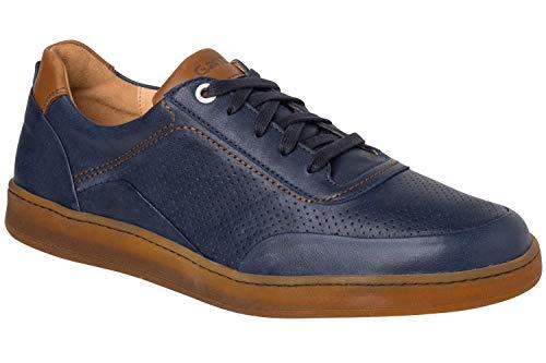 Ganter Herren Hagen - H Sneaker, Navy/Tabacco, 42 EU
