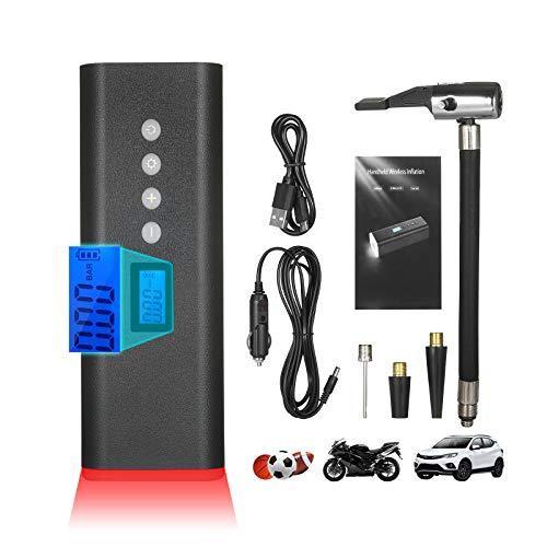 pedkit Inflador de Neumáticos Eléctrico Digital de 150 PSI, Compresor Aire Portatil...
