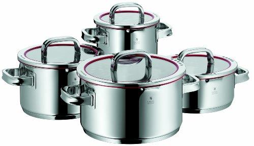 WMF 完美福Function顶级不锈钢红圈煮锅8件套