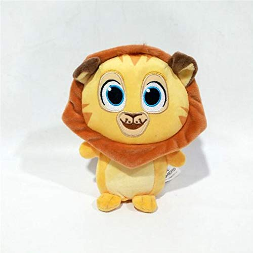 shenlanyu Juguete de Peluche 17cm Madagascar Lion Alex Plush Toy Anime Cartoon...
