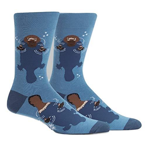 Sock It To Me - Unisex Motivsocken Schnabeltier Wasser Gr.42-47 One Size