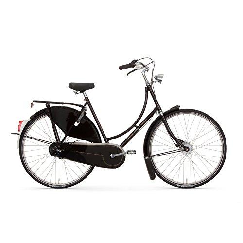 Gazelle Tour Populair Damen 7 Gang Hollandrad 2016, Farbe:schwarz, Rahmenhöhe:51 cm