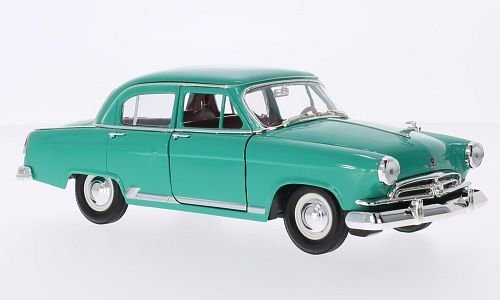 Wolga / GAZ M21, grün, 1957, Modellauto, Fertigmodell, Lucky Die Cast 1:24