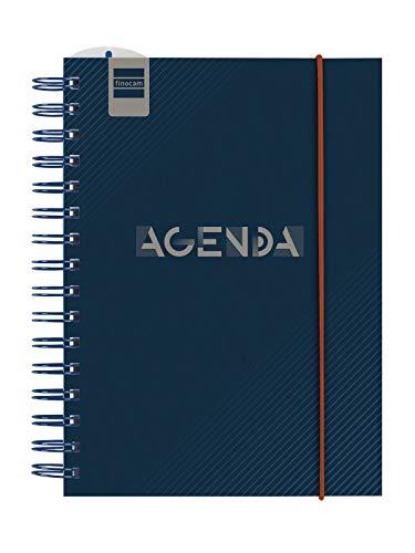 Finocam - Agenda Curso 2020-2021 Cuarto-155x215 Semana Vista Vertical Institut Blue Español