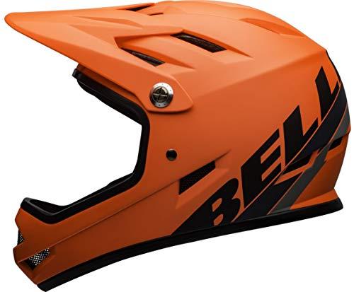 BELL Sanction DH 2020 - Casco de Ciclismo, Color Naranja y Negro