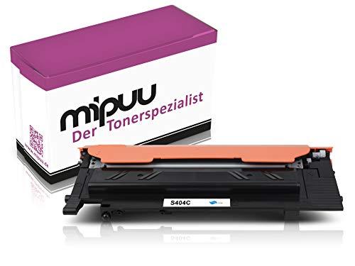 Mipuu toner compatibel met Samsung CLT-C404S Cyan voor Xpress C430 C430W C480 C480fn C480fw C482w SL-C430 SL-C430w