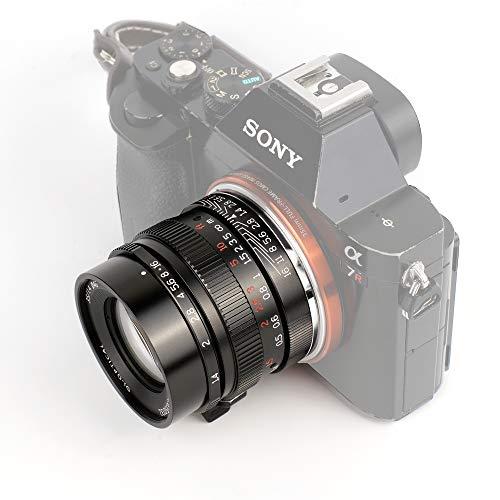7artisans 35 mm F1.4 Vollformat-Objektiv für Sony E-Mount-Kameras A7 A7II A7R A7RII A7S A7SII A6500 A6300 A6000 A5100 A5000