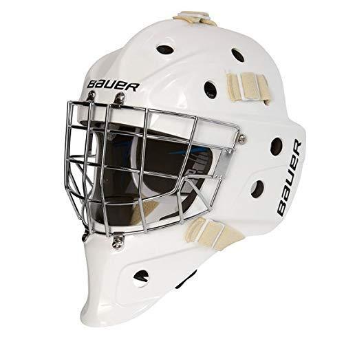 Bauer Profile 930 Goalie Maske Junior, Farbe:Weiss