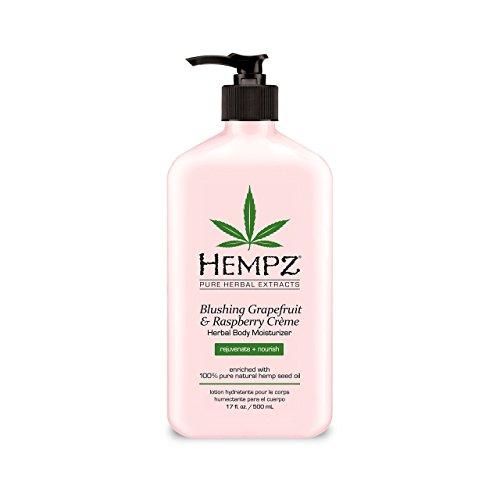 Hempz Blushing Grapefruit & Raspberry Creme Herbal Body Moisturizer 17.0 oz | ⭐️ Exclusive