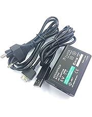 MARSPOWER Stabile Power Charger Power Adapter Prestazioni affidabili per Sony PS Vita Alimentazione AC Conversione del Caricatore Cavo Dati USB Spina