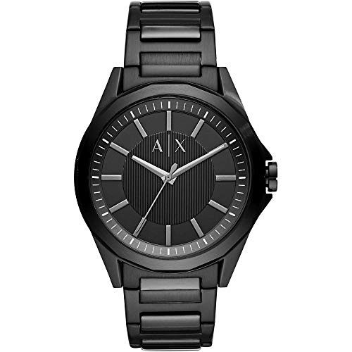 Armani Exchange Herren Analog Quarz Uhr mit Edelstahl Armband AX2620