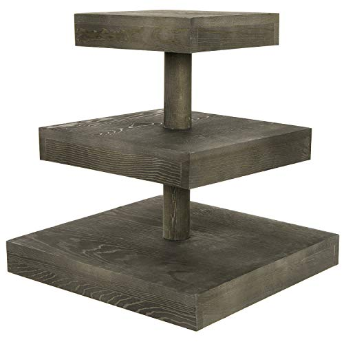 wooden tiered cupcake stand - 8