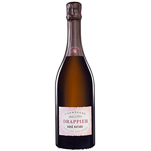 Champagne Drappier Rosé Brut Nature