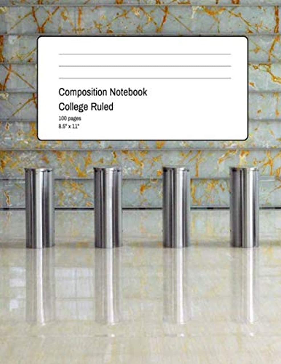 Composition Notebook College Ruled: 100 Pages + 8.5
