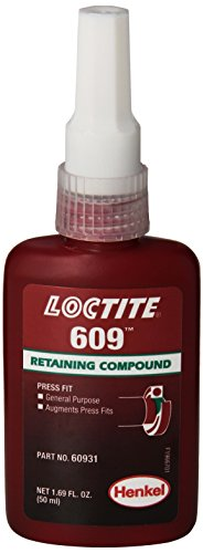 Loctite 609 442-60931 50ml Retaining Compound, General Purpose, Green Color