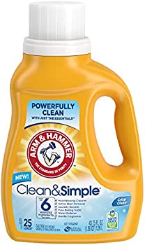 2-Pack Arm & Hammer Clean & Simple Liquid Laundry Detergent