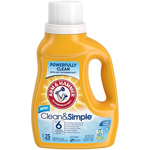 (50% OFF) Arm & Hammer Clean & Simple Laundry Detergent $3.99 Deal