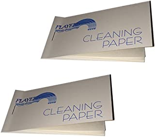 Tenor Saxophone Pad Cleaning Paper 2 Pack - Magic solution for sticky pads