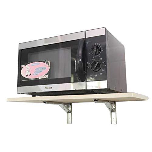 HH- Mesa Auxiliar/Mesas de café Madera Plegable De Pared Mesa De Alas Abatibles - Cocina Mesa/Computer Tabla/Estudio Teórico Comedor con Soporte De Bisagra De Bricolaje (Size : L70×W38cm)