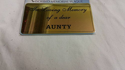 Aunty Autocollant pour pots de Mémorial