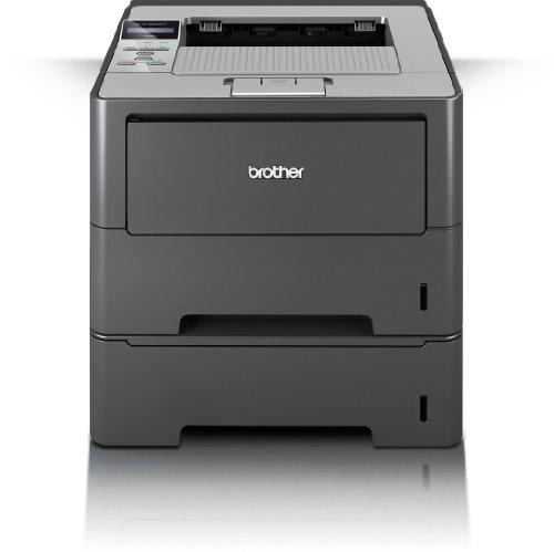 Brother HL-6180DWT Monochrome Laserdrucker mit Duplexdruck (1200 x 1200 dpi, LAN/WLAN) weiß/garu