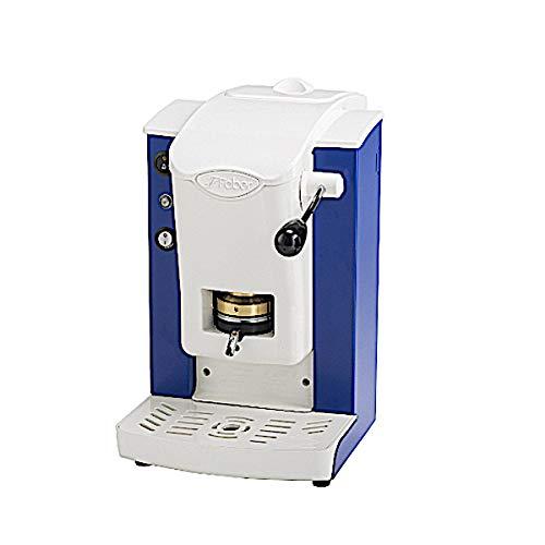 Faber Italien Faber Slot Plast Kaffeeautomat A Kaffeepads ESE 44mm–Farbe Blau Vintage mit Finish grau