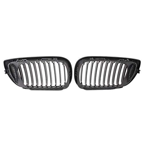 LHZBB Accesorios para el Cuerpo Parrillas de radiador para BMW E46 Touring Saloon 4D 2002-2005 LCI Facelift para BMW E46 Saloon 4 Puertas 2002-2005 Facelift 2PCS Parrilla Delantera Rejilla de riñón