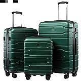 KGDUYH Maleta Nuevo 1 / 3pcs Set 20'''24/28 Pulgada Rolling Equipaje Configure Maleta de Viaje en Ruedas 20inch Carry Ons Cabin Trolley Equipaje Bolsa ABS + PC Funda para Viajes de Negocios