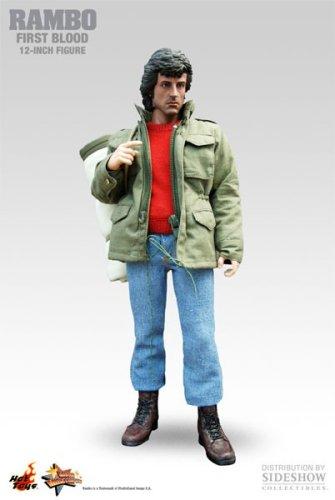 Sylvester Stallone :  John J. Rambo 30cm Movie Masterpiece Actionfigur