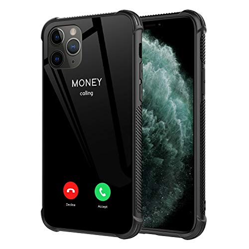 iPhone 11 Case,Money Calling iPhone 11 Cases for Boys Girls Women,Fashion Cute Graphic Design Shockproof Anti-Scratch Drop Protection Case for iPhone 11