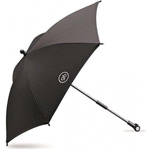 gb Gold - Parasol, para cochecitos y sillas de paseo gb, color negro
