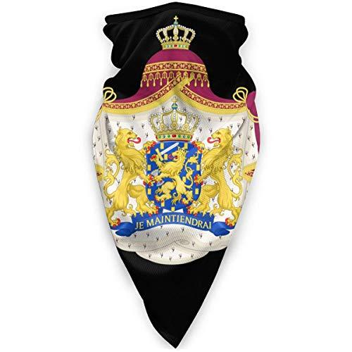 Mascarilla para exteriores con emblema nacional de los Países Bajos