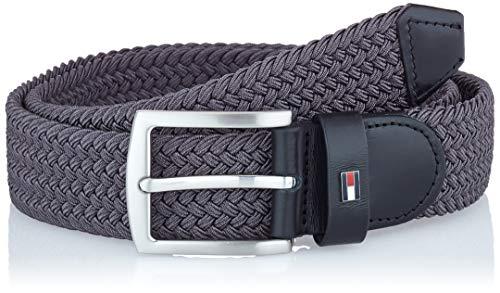Tommy Hilfiger Denton Elastic 3.5 Cintura, Grigio (Pewter Grey Pq8), 6 (Taglia Unica: 100) Uomo
