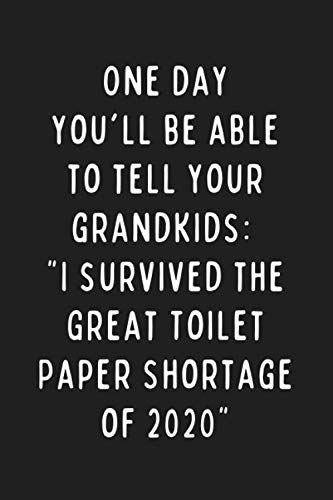 One Day You'll Be Able To Tell Your Grandkids: