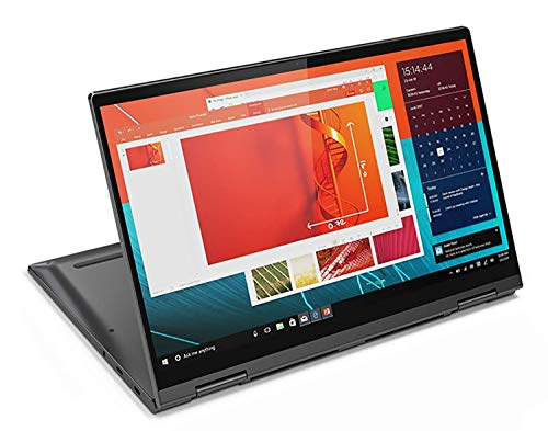 Lenovo Yoga C740 - Portátil táctil Convertible 14' FullHD (Intel Core i7-10510U, 16GB RAM, 1TB SSD, Intel UHD Graphics, Windows 10 Home), Gris - Teclado QWERTY Português