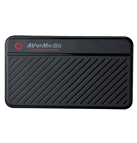 AVerMedia Live Gamer Mini: Full HD 1080P Video Recording, H.264 Hardware Encoder Game Capture Card (GC311),black,752-pound