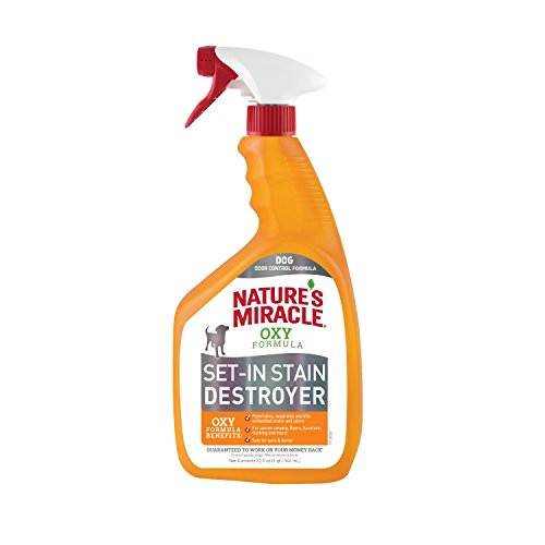 32-Oz Nature's Miracle Dog Set-In Stain Destroyer Oxy Formula (Orange Scent) $3.80