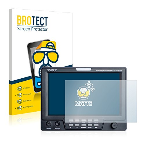 BROTECT 2X Entspiegelungs-Schutzfolie kompatibel mit Swit S-1071F Displayschutz-Folie Matt, Anti-Reflex, Anti-Fingerprint
