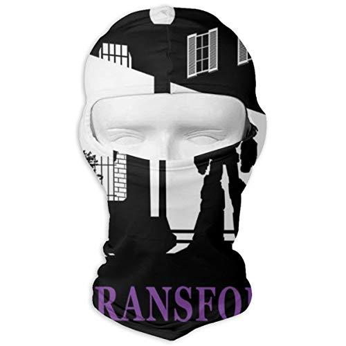 The Transformist Exorcist Poster-Mix Gesichtsmaske Bandanas für Staub, Outdoor, Festivals, Sport, Vollgesichtsmaske Kapuze