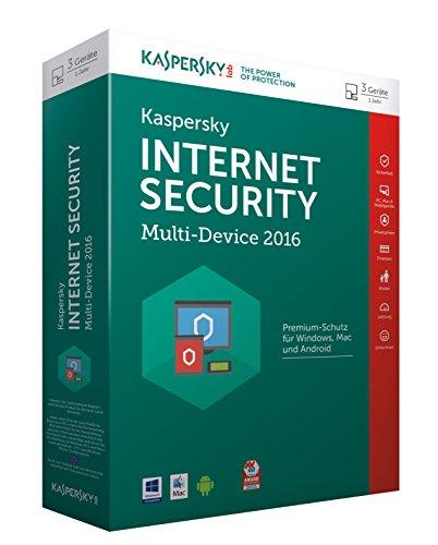 Kaspersky Internet Security Multi-Device 2016 - 3 Geräte / 1 Jahr