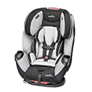 Dual, seat-integrated elastic cup holders for easy access to drinks Quick connector simply click, click and pull for a super-fast, super-snug installation of the seat to the vehicle All in one car seat the only car seat you will ever need Infinite sl...