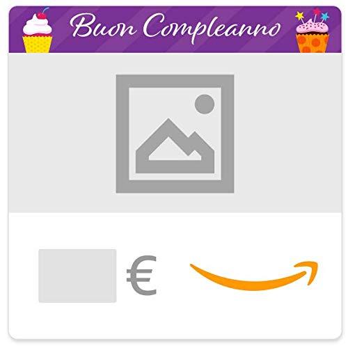 Buono Regalo Amazon.it - Digitale - Personalizzato - Cupcakes (Compleanno)
