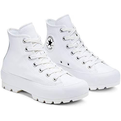Converse Chuck Taylor All Star, Zapatillas de Paseo. para Mujer, Blanco, 39 EU