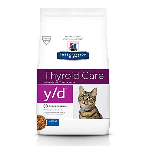 Hill'S Prescription Diet Y/D Feline Thyroid Health Dry Cat Food   Chewy
