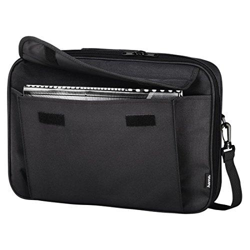Hama Notebook-Tasche Sportsline Montego (Tasche für Laptop / Notebook, Notebooktasche geeignet für Computer bis 15,6 Zoll / 40 cm Bildschirmdiagonale, Laptoptasche) schwarz