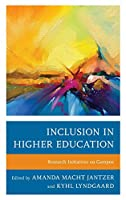 Inclusion in Higher Education: Research Initiatives on Campus