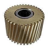 perfeclan Tongsheng TSDZ2 Reemplazo de Motor de Engranaje de Nailon con Motor de accionamiento Medio para Bicicleta eléctrica - Metal