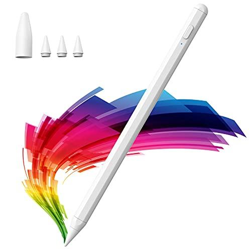 Stylus Pen para iPad,Lápiz iPad sin Retraso para (2018-2020) iPad 6th 7th 8th Gen / iPad Pro 11 '' y 12,9 '' / iPad Mini 5th Gen / iPad Air de 3rd Gen con función de rechazo de Palma