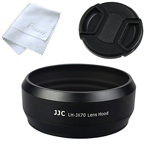 JJC LH-JX70 Black Metal Lens Hood for Fujifilm X70, Fuji X70 Lens...